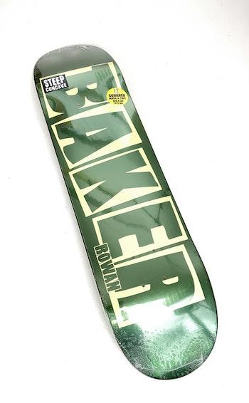 Skateboard Baker 8.0'' Rowan Green Foil