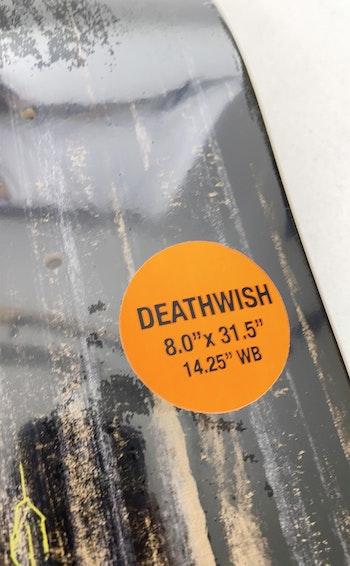 Skateboard Deathwish Forest Kirby 8.0'' Sacrilege