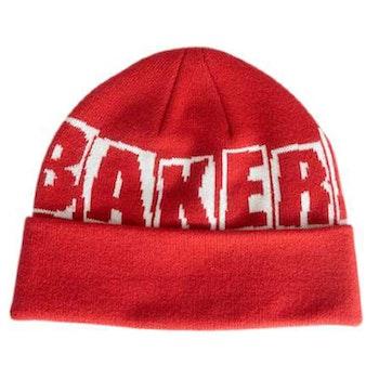 Beanie Baker Brand Logo Red