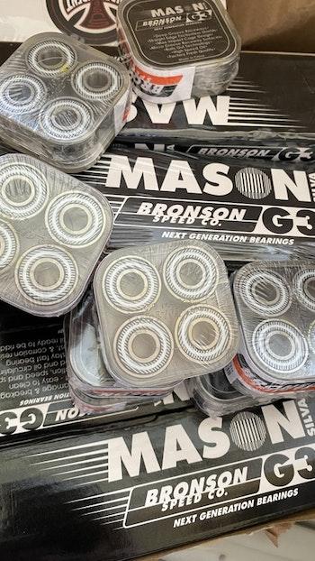 Bronson G3 Mason Silva Skateboard Bearings