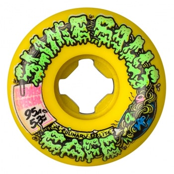 Wheels Slime Balls Double Take Cafe Vomit Mini Yellow Black 53m 95a