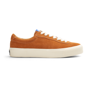 Shoes Last Resort AB VM001 Suede Lo Chedder White