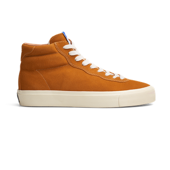 Shoes Last Resort AB VM001 Suede High Chedder White