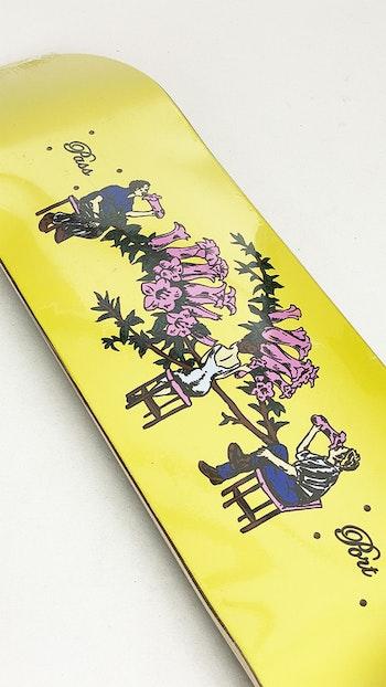 Skateboard Pass-Port Floral Series Bar 8.5''