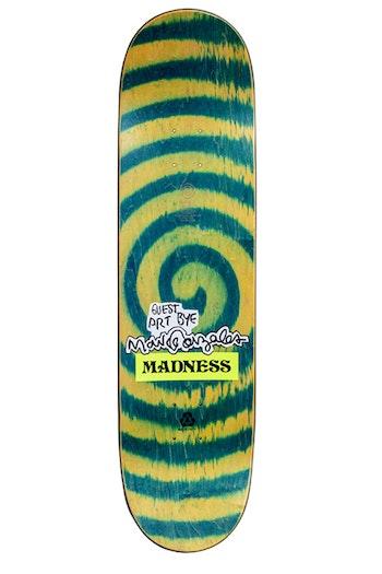 Skateboard Madness Jack Fardell Gonz Green Swirl 8,5''