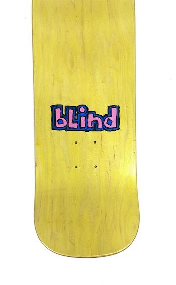 Skateboard Blind Danny Way Nuke Baby screen printed pink 9,7''
