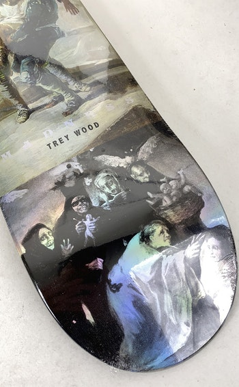Skateboard Madness Trey Wood Blackout 8,5'' Hohographic
