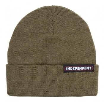 Independent Bar Beanie Olive