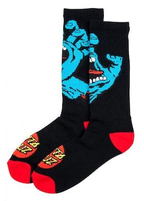 Socks Santa Cruz Screaming Hand Black
