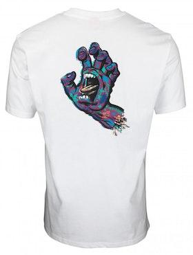 T Shirt Santa Cruz Growth Hand White