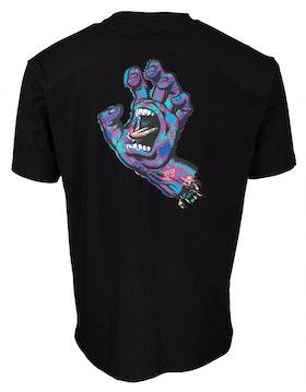 T Shirt Santa Cruz Growth Hand Black