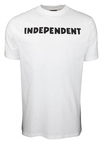 T-Shirt Independent logo White