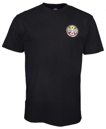 T-Shirt Independent Split Cross logo Black