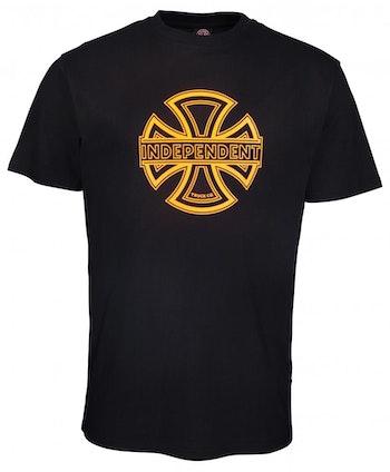 T-Shirt Independent Convex Logo Black