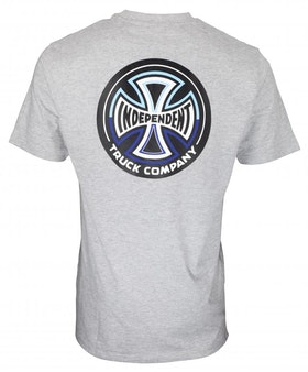 T-Shirt Independent Split Cross logo Dark Heather