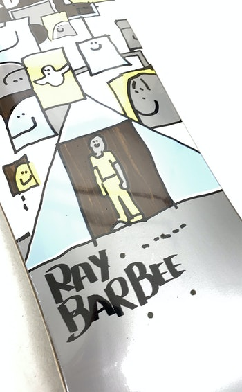 Skateboard Krooked Ray Barbee Trifecta 9,5''