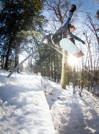 Snowskate Ambition Team red 8,5''