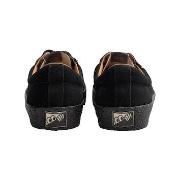 Shoes Last Resort AB VM002 SUEDE Lo Black Black