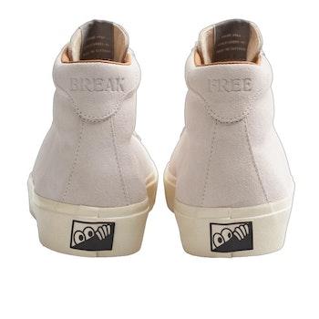 Shoes Last Resort AB VM001 SUEDE Hi White White