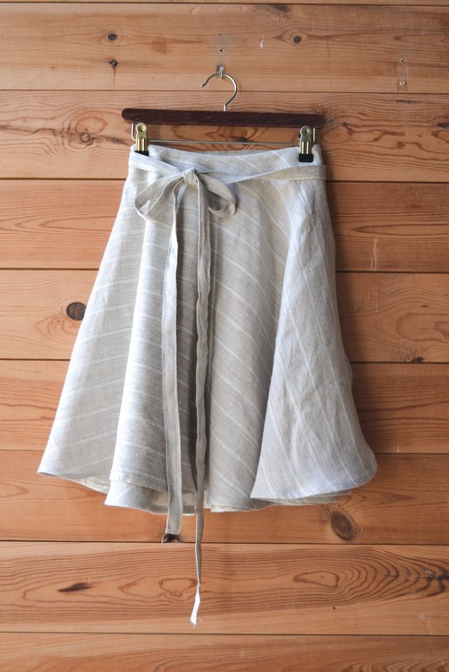 ULTIMATE SHORT SKIRT - LINEN