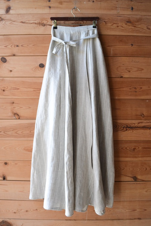 ULTIMATE LONG SKIRT - LINEN