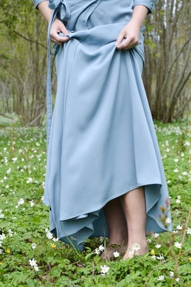 ULTIMATE LONG SKIRT - VINTAGE BLUE