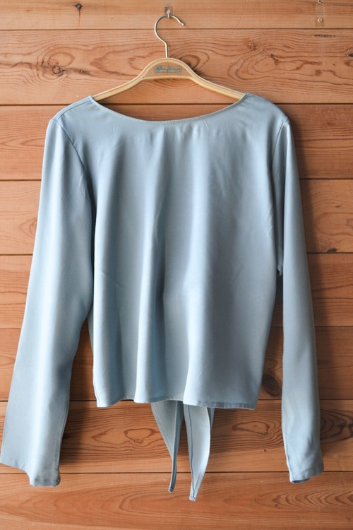 ULTIMATE BACKWARD TOP - VINTAGE BLUE