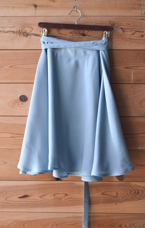 ULTIMATE SHORT SKIRT - VINTAGE BLUE