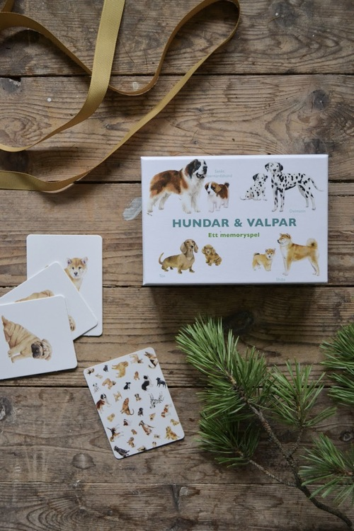 Hundar och valpar: memory
