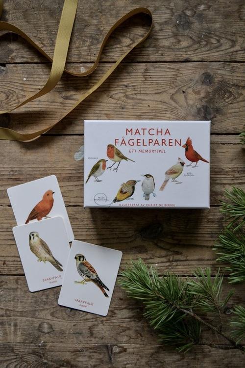 Matcha fågelparen: memory