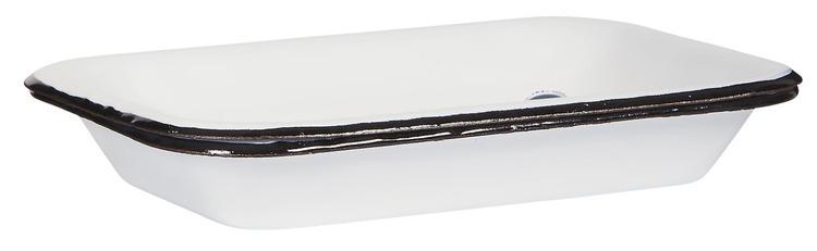 Tvålkopp emalj i 2-delar
