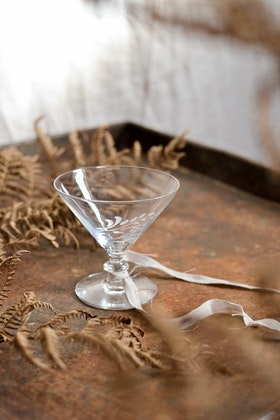 Litet martiniglas VINTAGE