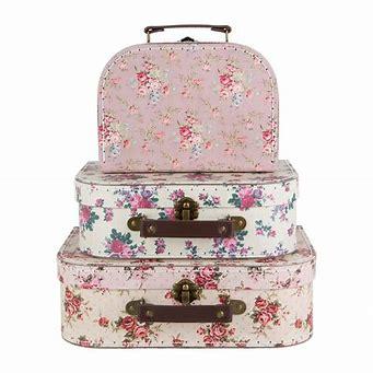 Väska VINTAGE ROSE liten