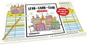 Spel - STAD-LAND-FLOD