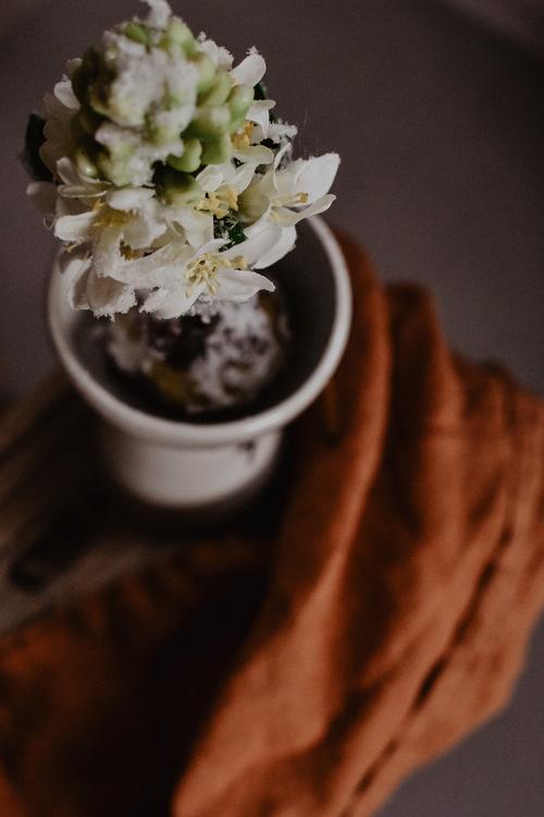 Hyacint konstgjord m. snö