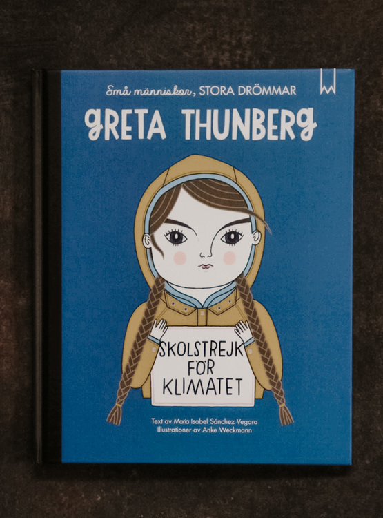 Barnbok GRETA THUNBERG - Small people Big dreams