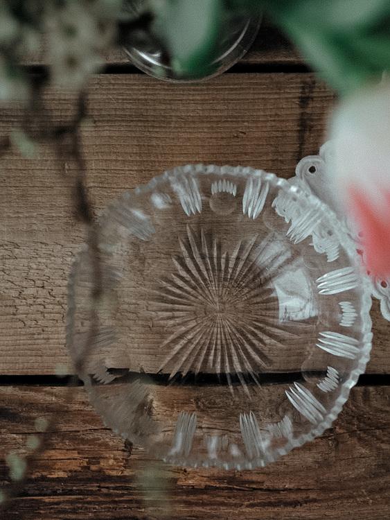 Liten glasskål VINTAGE