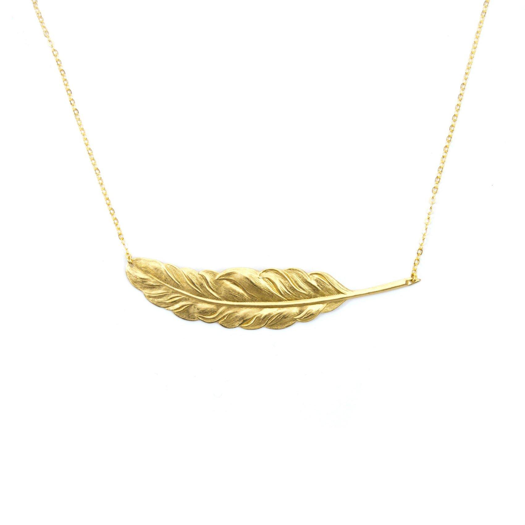 Halsband FJÄDER