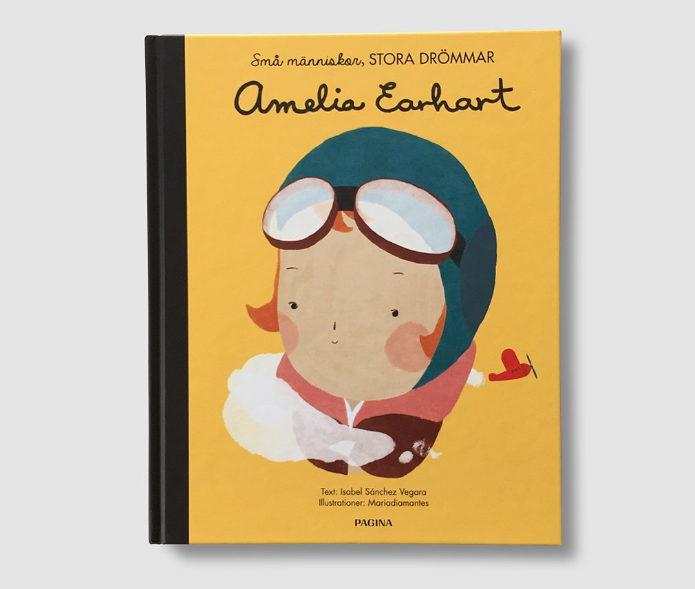 Barnbok AMELIA EARHART - Small people Big dreams