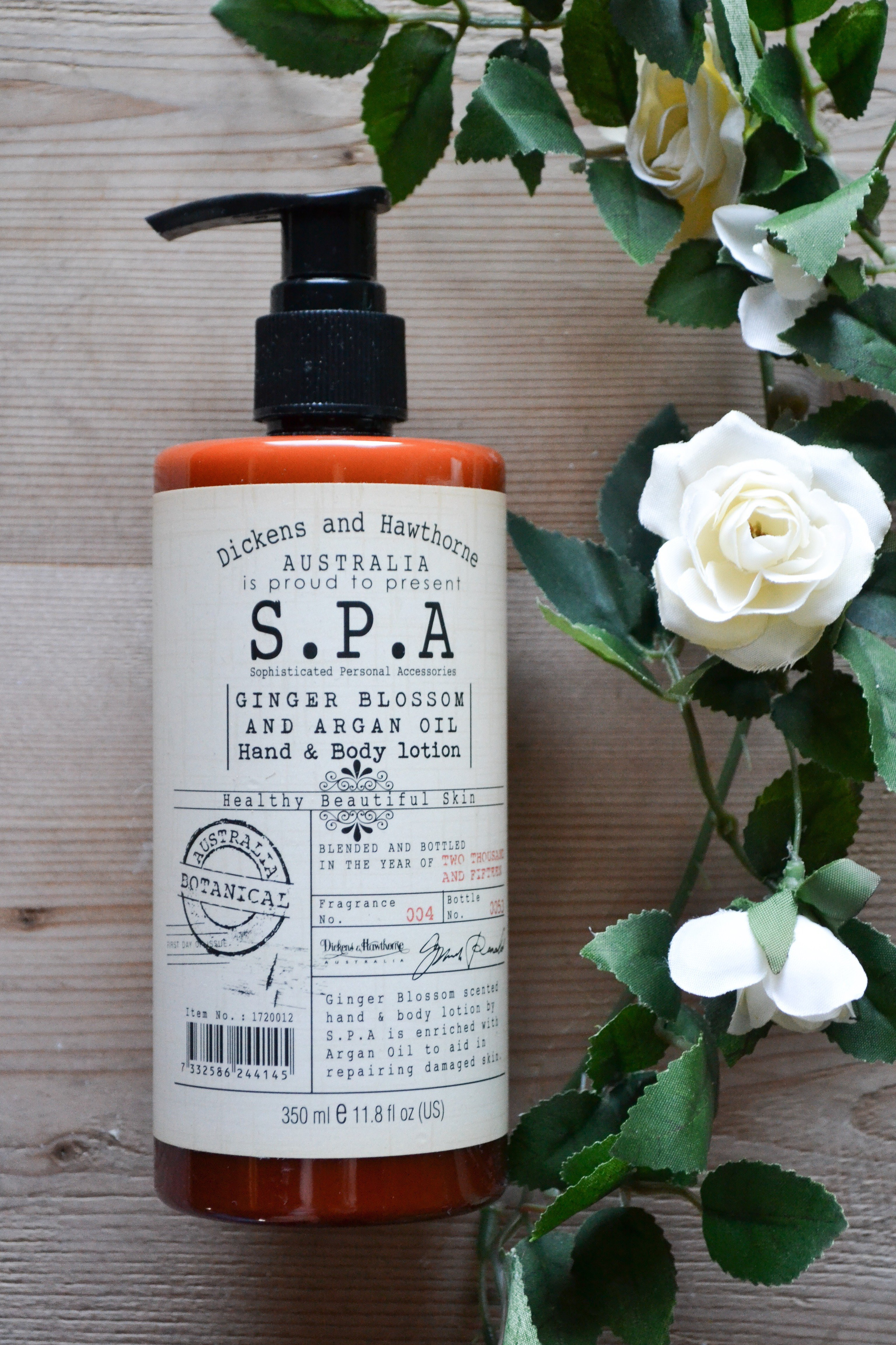 Lotion S.P.A GINGER BLOSSOM