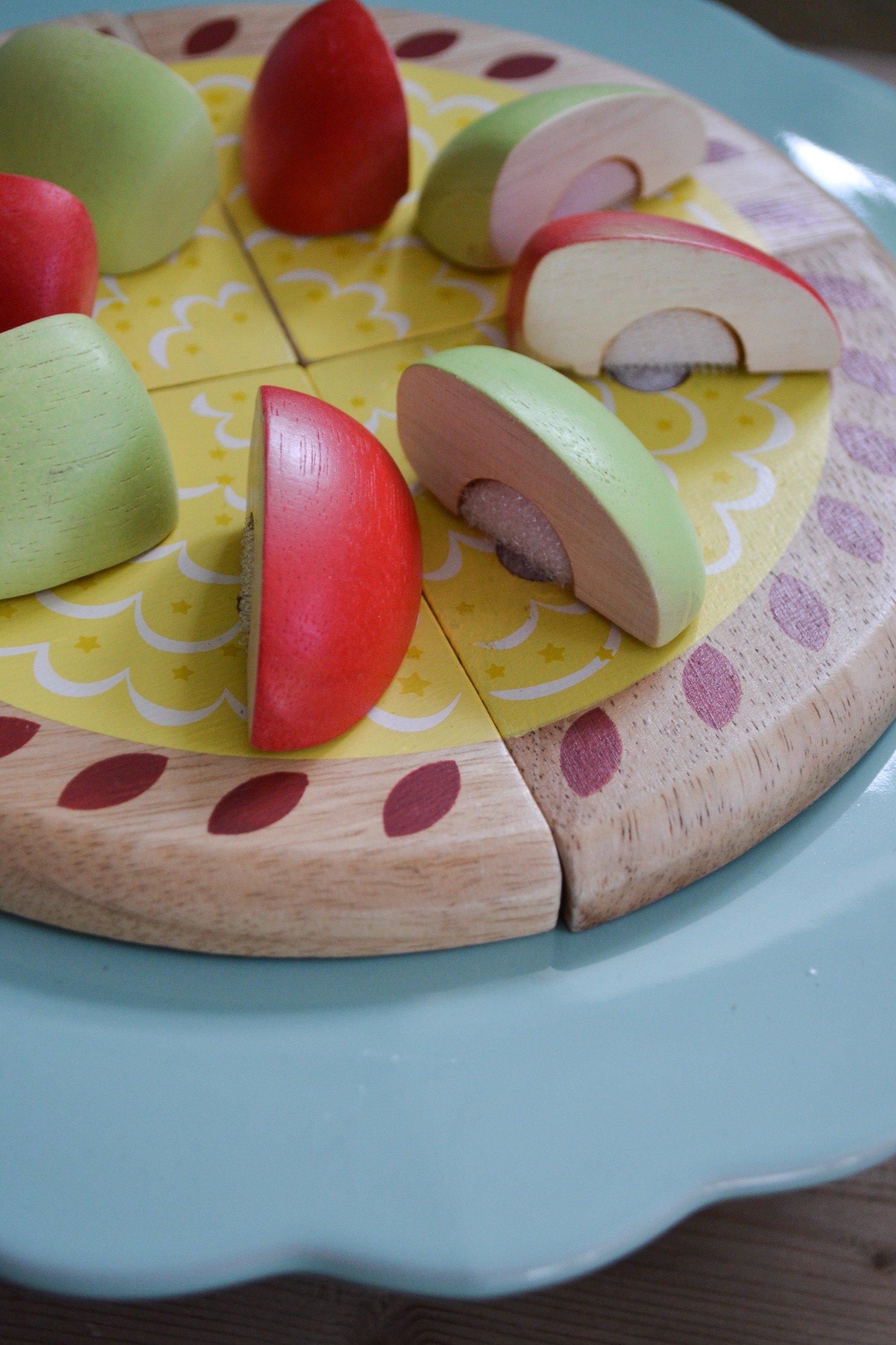 Äppelpaj i trä