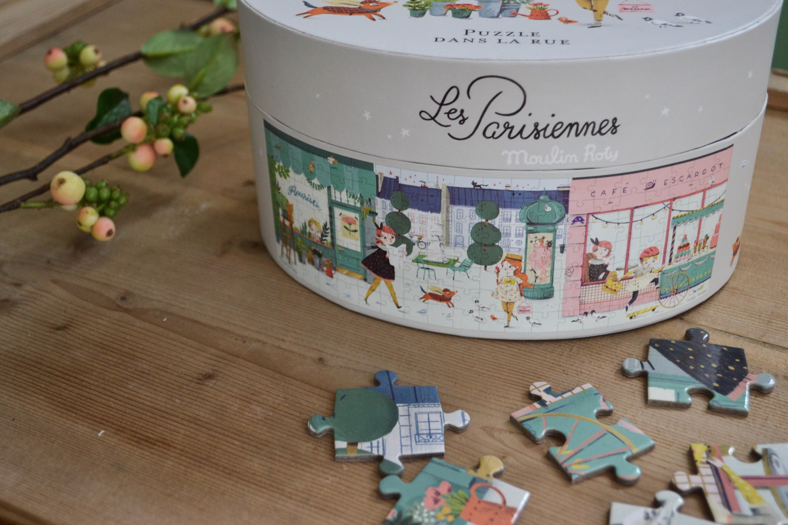 """Pussel PARISGATA """"Les Parisiennes"""" 140 bitar"""