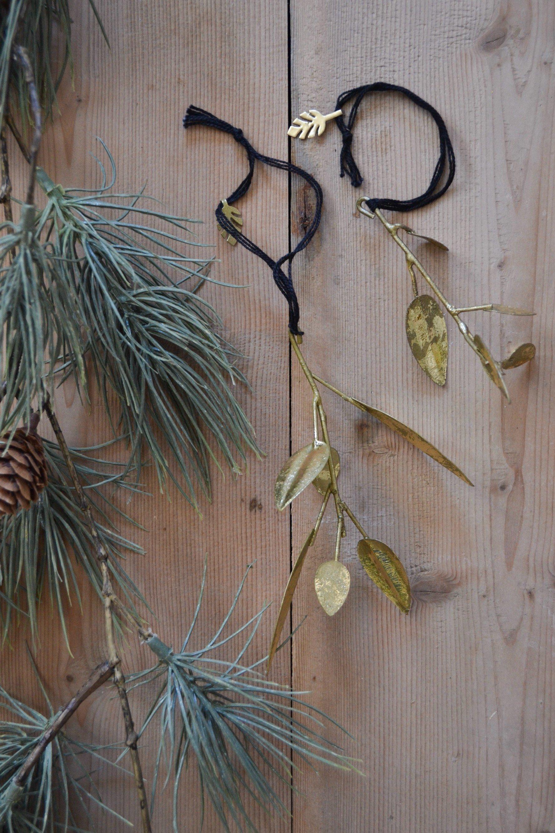 Gyllande kvist hängande