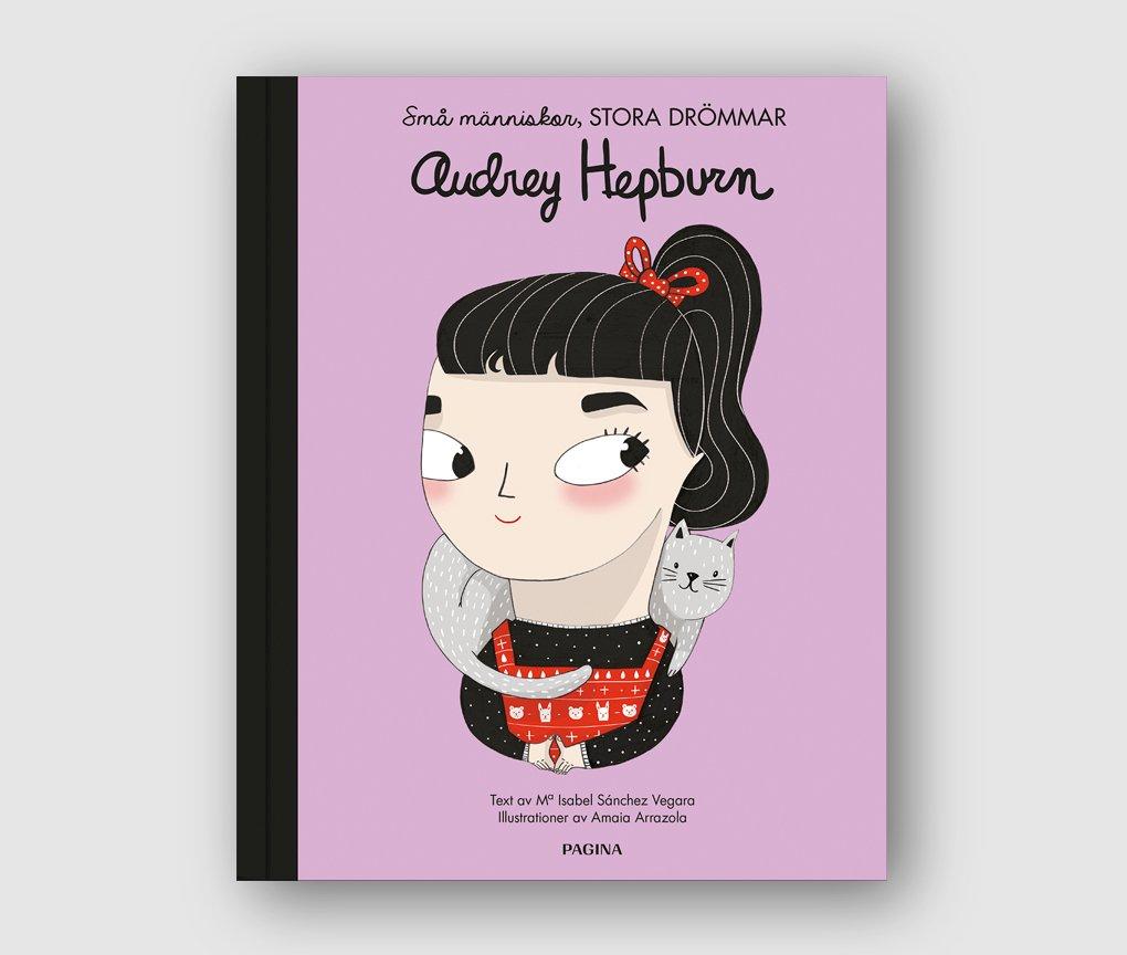 Barnbok AUDREY HEPBURN - Small people Big dreams