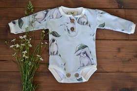 RABBIS BABYBODY LIGHT GREY PAPIJJON SWEDEN