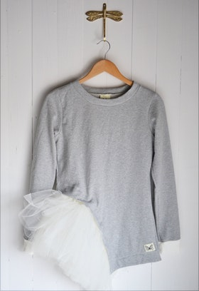 WING SWEATER LIGHT GREY