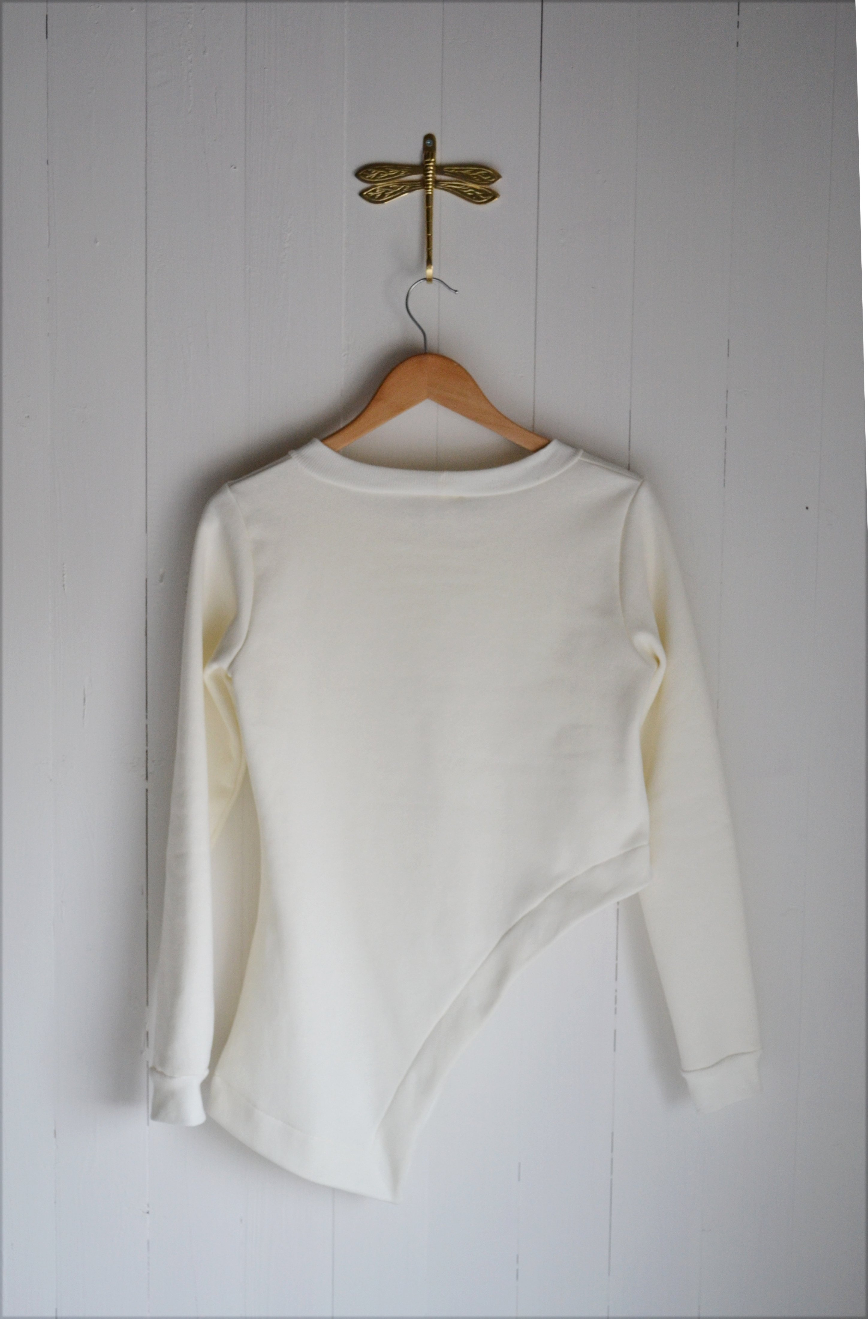 WING SWEATER OFFWHITE
