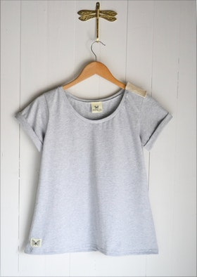ETERNITY T-SHIRT LIGHT GREY