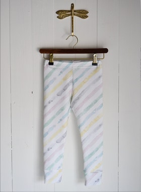 WATERCOLOUR STRIPE LEGGINGS MULTI