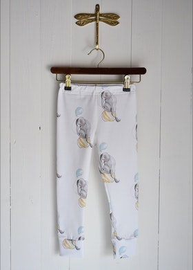 CIRCUS ELEPHANT LEGGINGS OFFWHITE